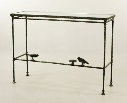 Gavels 'n' Paddles: Diego Giacometti table, $204,000, Kaminski