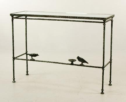 Gavels 'n' Paddles: Diego Giacometti table, $204,000, Kaminski