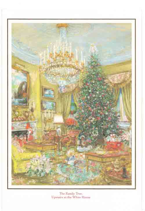 Presidential Christmas Cards