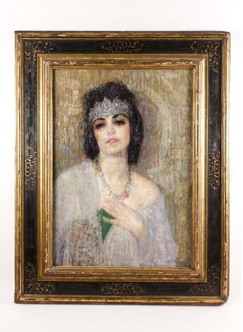 Gavels 'n' Paddles: Hovsep Pushman painting, $50,000, Ahlers & Ogletree