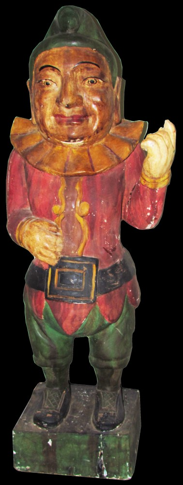 Gavels 'n' Paddles: Punch cigar store figure, $102,699, Showtime