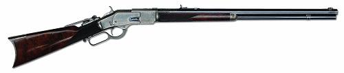 Gavels 'n' Paddles: Winchester Model 1873 rifle, $258,750, James D. Julia, Inc.