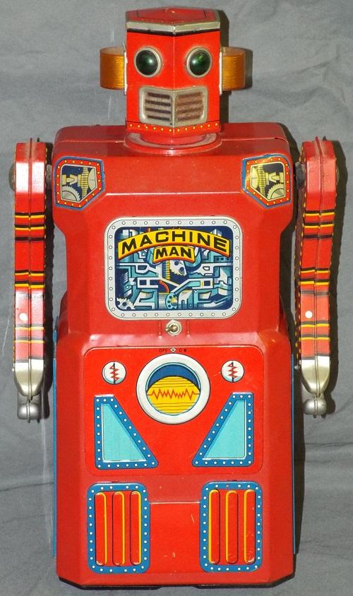 "Gavels 'n' Paddles: ""Machine Man"" robot, $44,850, Philip Weiss"