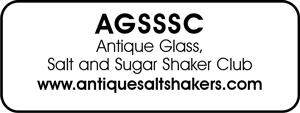 Antique Glass, Salt and Sugar Shaker Club