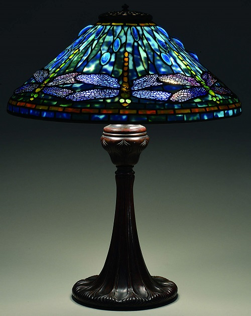 Gavels 'n' Paddles: Tiffany Dragonfly lamp, $142,200, James D. Julia