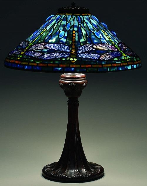 Gavels 'n' Paddles: Tiffany Dragonfly lamp, $142,200, James D. Julia