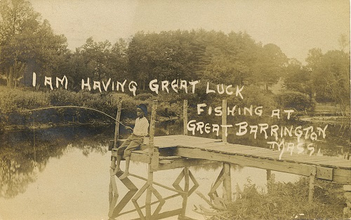 Hunting for Vintage Postcards