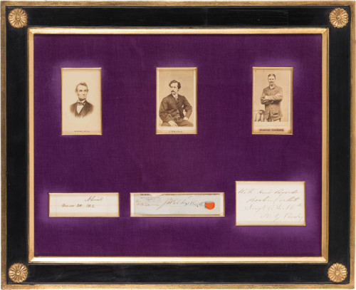 Gavels 'n' Paddles: Lincoln collection: $803,889, Heritage