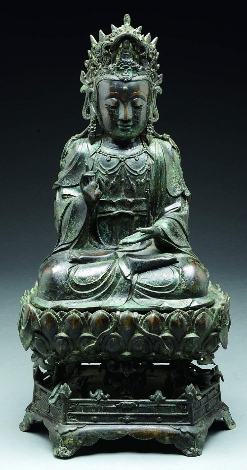 Gavels 'N Paddles: Ming Dynasty Quanyin, $189,600, James D. Julia