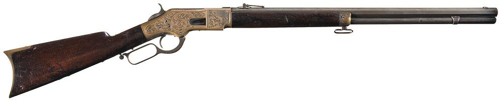 Gavels 'N Paddles: Winchester 1866 rifle, $25,875, Rock Island