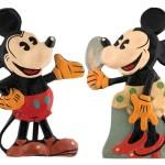 Gavels 'N Paddles: Mickey and Minnie display, $29,222, Hake's Americana