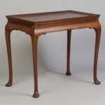 Gavels 'N Paddles: Queen Anne tea table (Va.), $299,000, Cottone Auctions