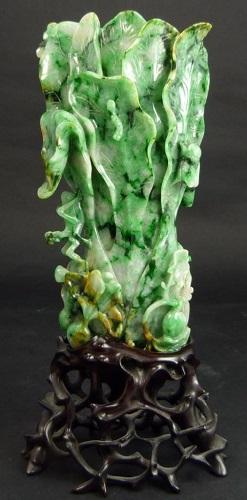 Gavels N Paddles Chinese Jadeite Cabbage Vase 59520 Elite
