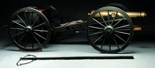 Gavels n Paddles: Civil War-era cannon, $350,750, James D. Julia