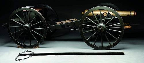 Gavels n Paddles: Civil War-era cannon, $350,750, James D. Julia