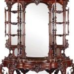 Gavels n Paddles: Thomas Brooks etagere, $63,250, Stevens Auction