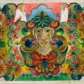 Gavels 'N Paddles: Minnie Evans painting, $30,000, Slotin Folk Art