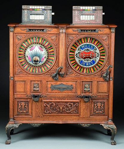 Gavels 'N Paddles: Mills double Dewey slot, $41,310, James D. Julia