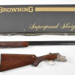 Gavels n Paddles: Belgian Browning shotgun, $27,600, Morphy Auctions