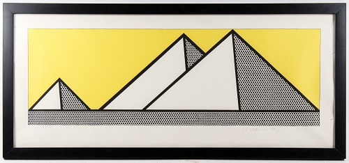 Gavels n Paddles: Lichtenstein lithograph, $10,030, Ahlers & Ogletree