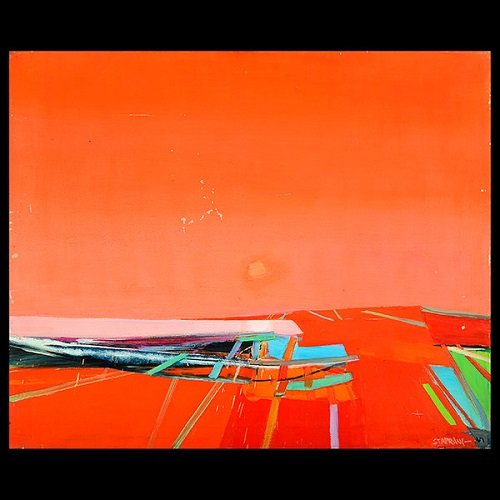 Gavels n Paddles: Raimonds Staprans work, $9,440, Michaan's Auctions