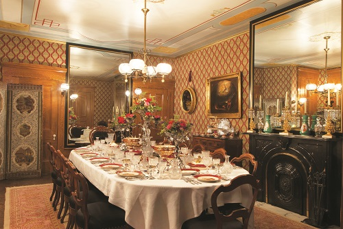 The Gilded Table at the Campbell House
