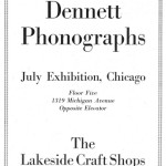 Fred Dennett and The Lakeside Craft Shops