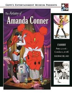 The Artistry of Amanda Conner Debuts at GEM