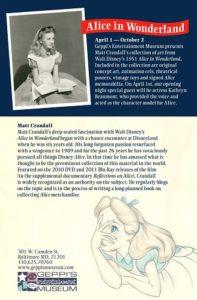 Matt Crandall's Alice in Wonderland Collection Now at GEM