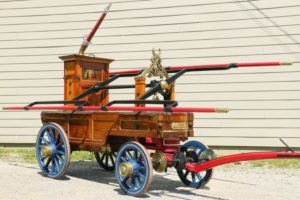 5. 1832 New York Gooseneck Tub Engine Lady Washington