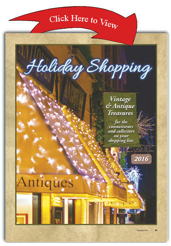 Journal of Antiques - Holiday Shopping Guide 2016