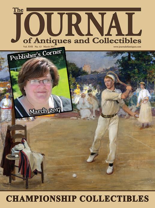 Publisher's Corner: March 2017