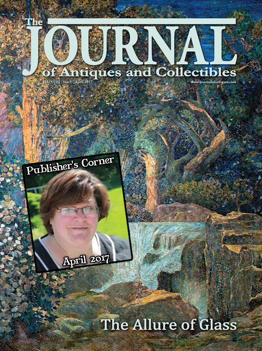 Publisher's Corner: April 2017
