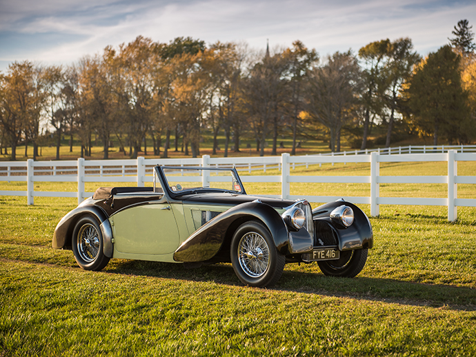 Gavels 'n' Paddles: 1937 Bugatti Type 57S car, $7.7 million, RM/Sotheby's