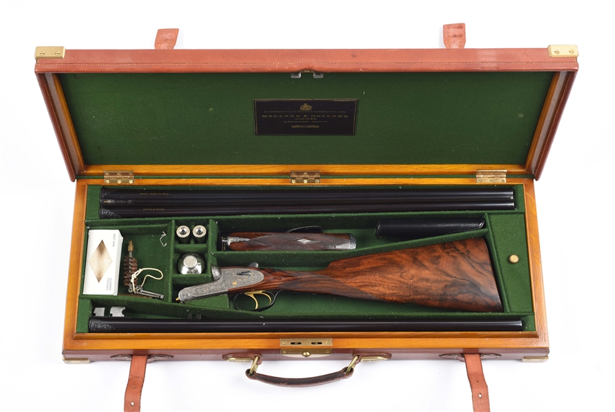 Gavels 'n' Paddles: Holland & Holland shotgun, $43,050, Morphy Auctions
