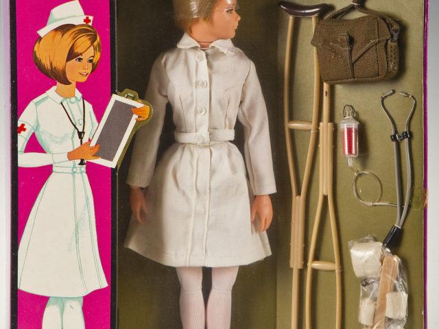 Gavels 'n' Paddles: 1967 GI Nurse in box, $4,200, Cordier Auctions