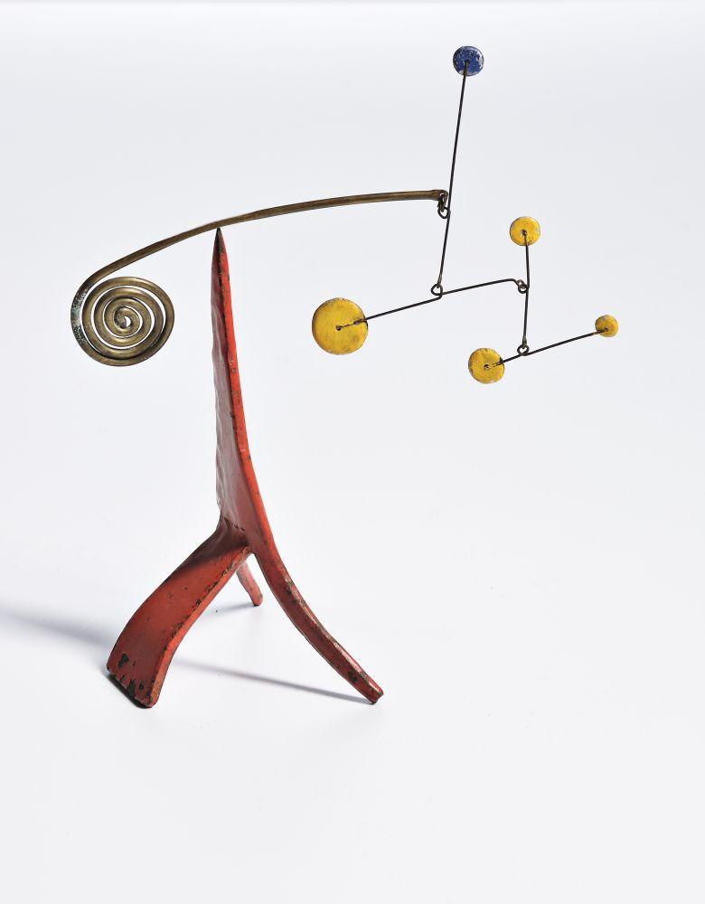 Gavels 'n' Paddles: Alexander Calder mobile, $471,000, Skinner, Inc.