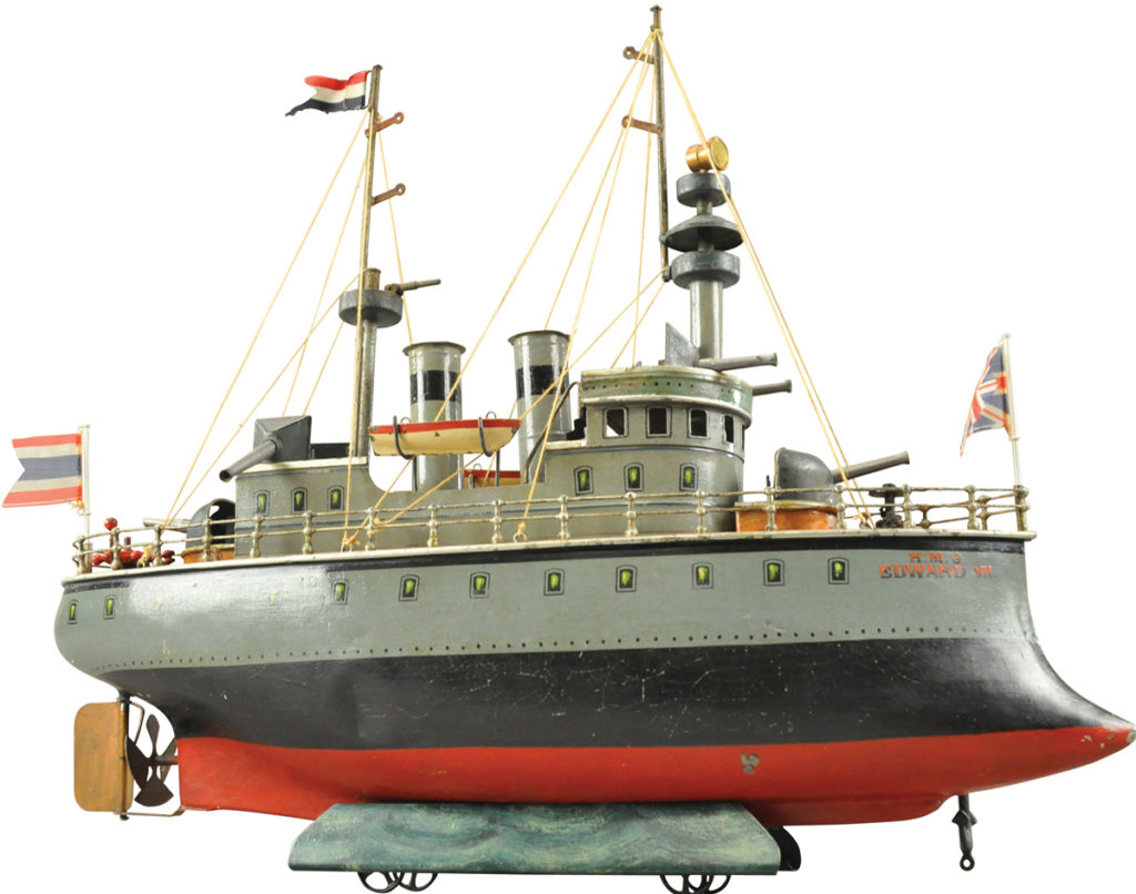 Gavels 'n' Paddles: German Marklin battleship, $150,000, Bertoia Auctions