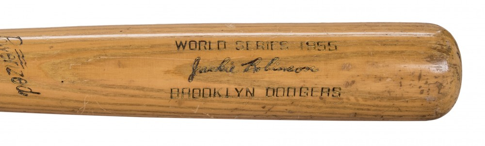Gavels 'n' Paddles: Jackie Robinson game bat, $255,000, Goldin Auctions
