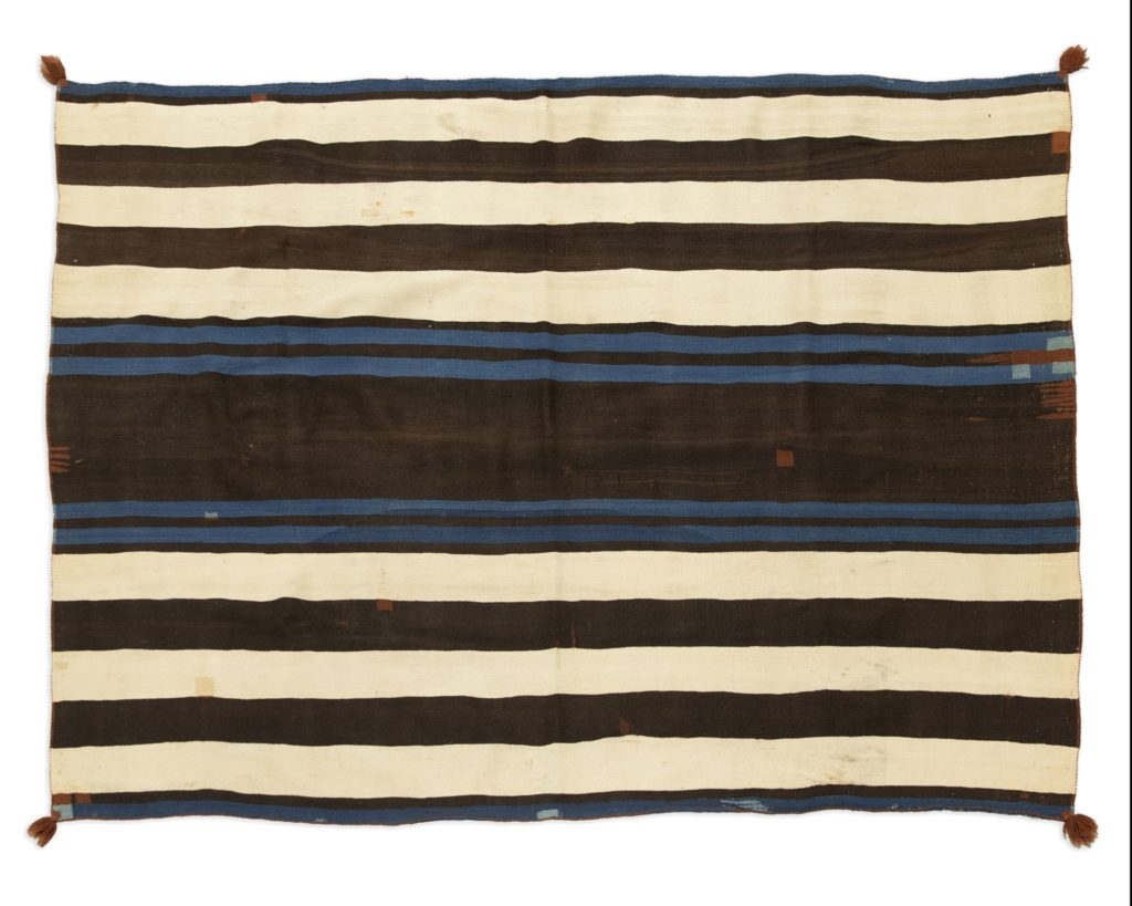 Gavels 'n' Paddles: Navajo Ute-style chief's blanket, $132,000, John Moran Auctioneers