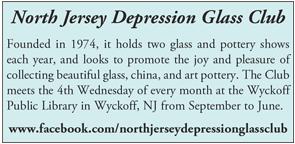 North Jersey Depression Glass Club