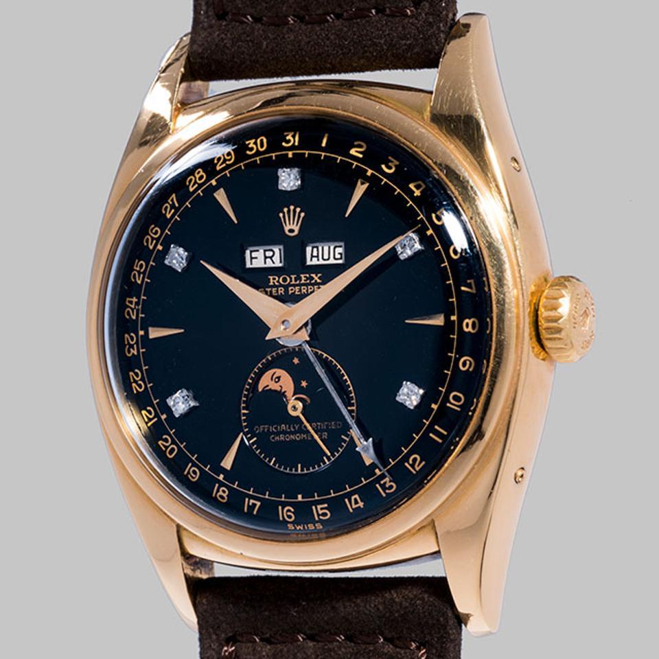 "Gavels 'n' Paddles: Rolex ""Bao Dai"" watch, $5.06 million, Phillips"