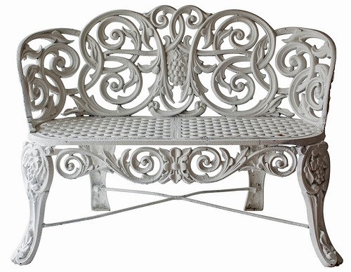 The lawn chair comes in many shapes and materials  including the  omnipresent white stacking kind popular poolside  but if you ask lawn chair  historian and. Embellished for the Elements   Outdoor Furniture
