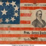 1856 Campaign Flag Sells for $275,000 at Heritage Auctions, Shattering World Record