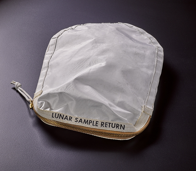 Gavels 'n' Paddles: Apollo 11 moon bag, $1.8 million, Sotheby's