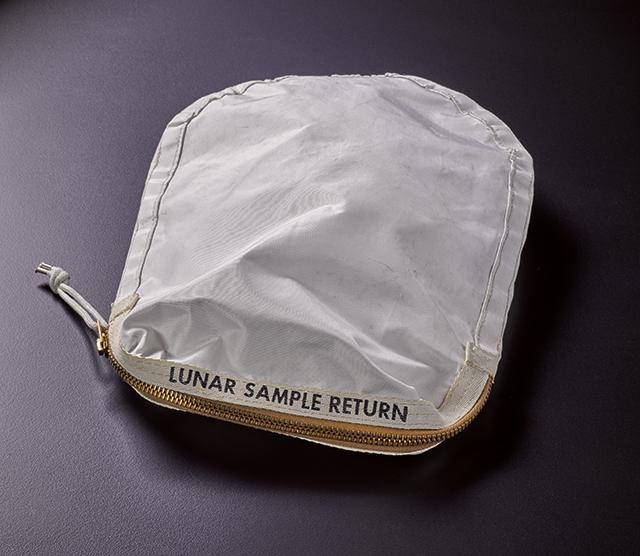 Gavels 'n' Paddles: Apollo 11 moon bag, $1.8 million, Sotheby's