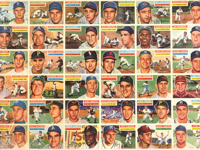 Gavels 'n' Paddles: Uncut sheet, baseball cards, $32,200, Blackwell Auctions