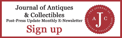 Journal of Antiques and Collectibles Newsletter Signup