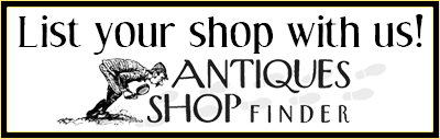 List Your Shop With Our Antique Shop Finder