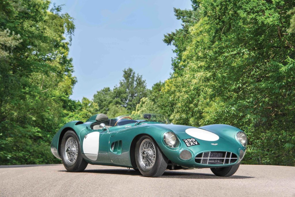 Gavels 'n' Paddles: 1956 Aston Martin DBR1 car, $22.55 million, RM/Sotheby's